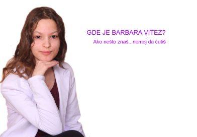 Barbara Vitez danas puni 18 godina